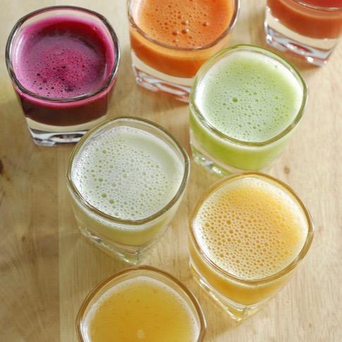 Juice detox for eczema